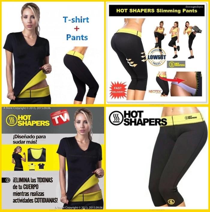 411aec7811 Jual Paket Super ekonomis Hot Shaper Baju + Hot Shaper Celana pants ...