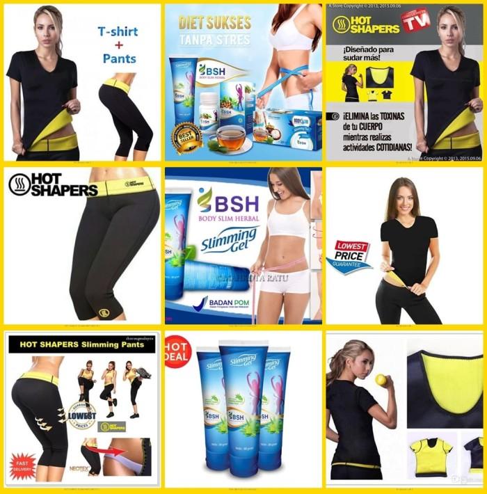 7c2c9103e9 Paket Super ekonomis Hot Shapers Baju + Hot Shapers Pants + BSH Ori -  Hitam