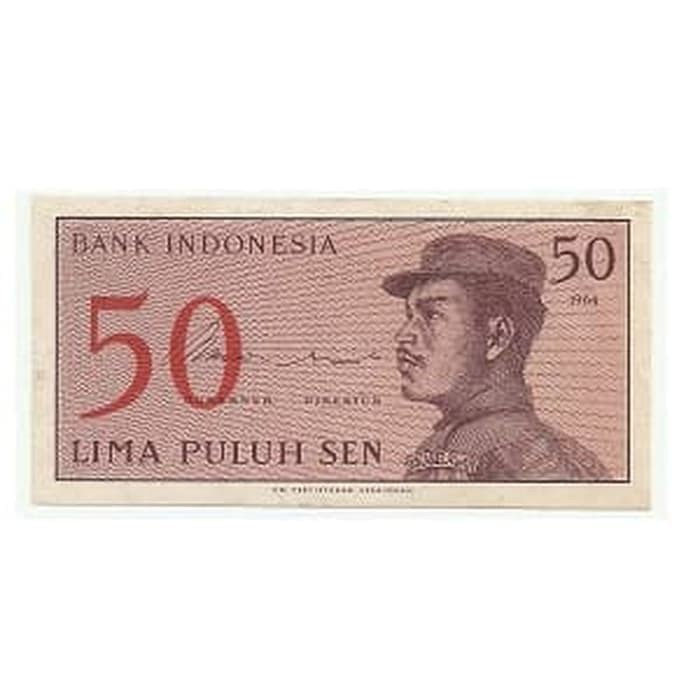 harga Uang Lama / Kuno Lima Puluh Sen Bank Indonesia Tahun 1964 Tokopedia.com