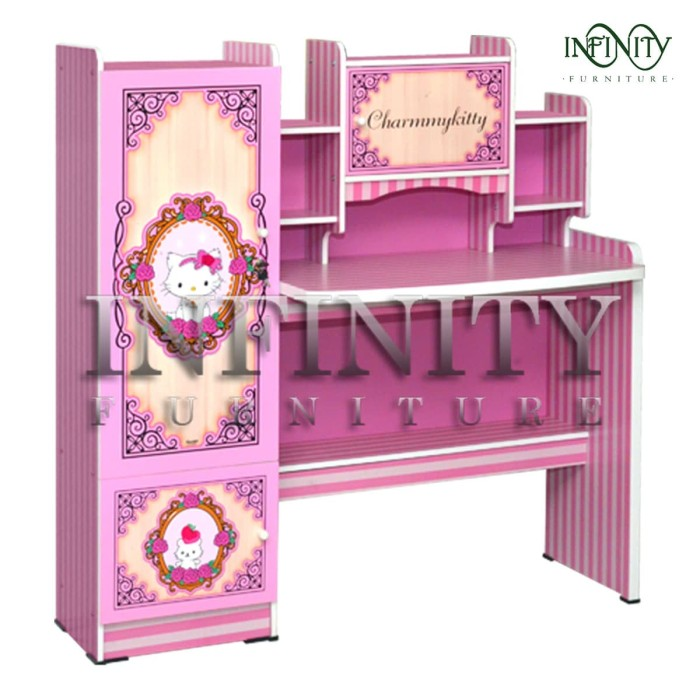 Jual Meja Belajar Anak Karakter Charmy Kitty Sd 2313 Ckt Kota Tangerang Infinity Furniture Tokopedia