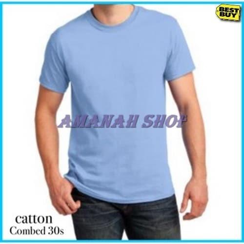 Jual Amanahshop Baju Polos Cewe Laki Kaos Lengan Pendek Desain Kaos Distr Kota Bandung Amanah Shop 15 Tokopedia