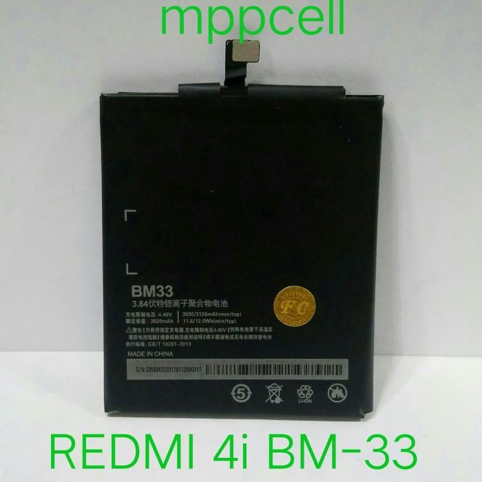 harga Batrei xiomi redmi-4i bm-33 redmi 4i bm33 bm 33 mi-4i Tokopedia.com