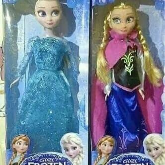 Jual boneka Barbie Frozen Elsa dan anna satu set - Media Siswa ... 8af66f5d39