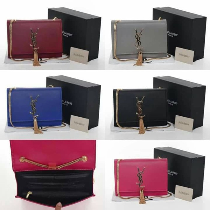 2be67181f01 Jual Ysl slingbag premium - Biru - Kota Medan - chfashionshopp ...