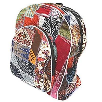 Tas punggung ransel batik khas bali bahan berkualitas dan kuat murah