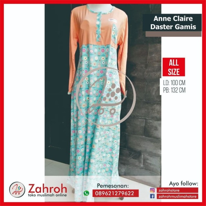 daster gamis Anne claire