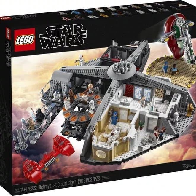 Jual Lego Star Wars Ucs Betrayal Of Cloud City 75222 Toko Brick