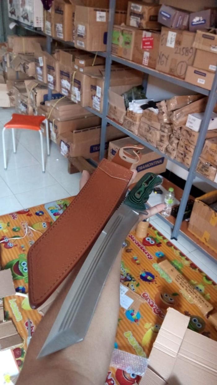 harga Tanto sarung kulit import panjang tajam survival kit outdoor activity Tokopedia.com