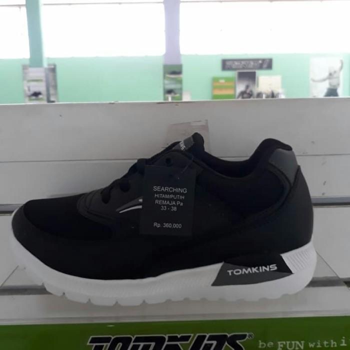 Jual Sepatu Tomkins ORIGINAL Model SEARCHING Remaja Harga PROMO ... b0820afaa8