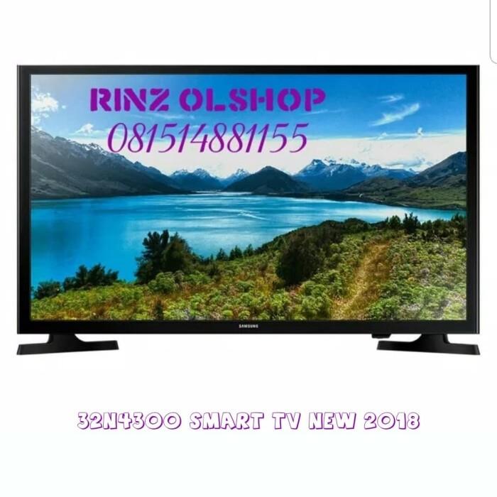 harga Led tv samsung 32  smart tv flat hd ready 32j4303 garansi resmi Tokopedia.com