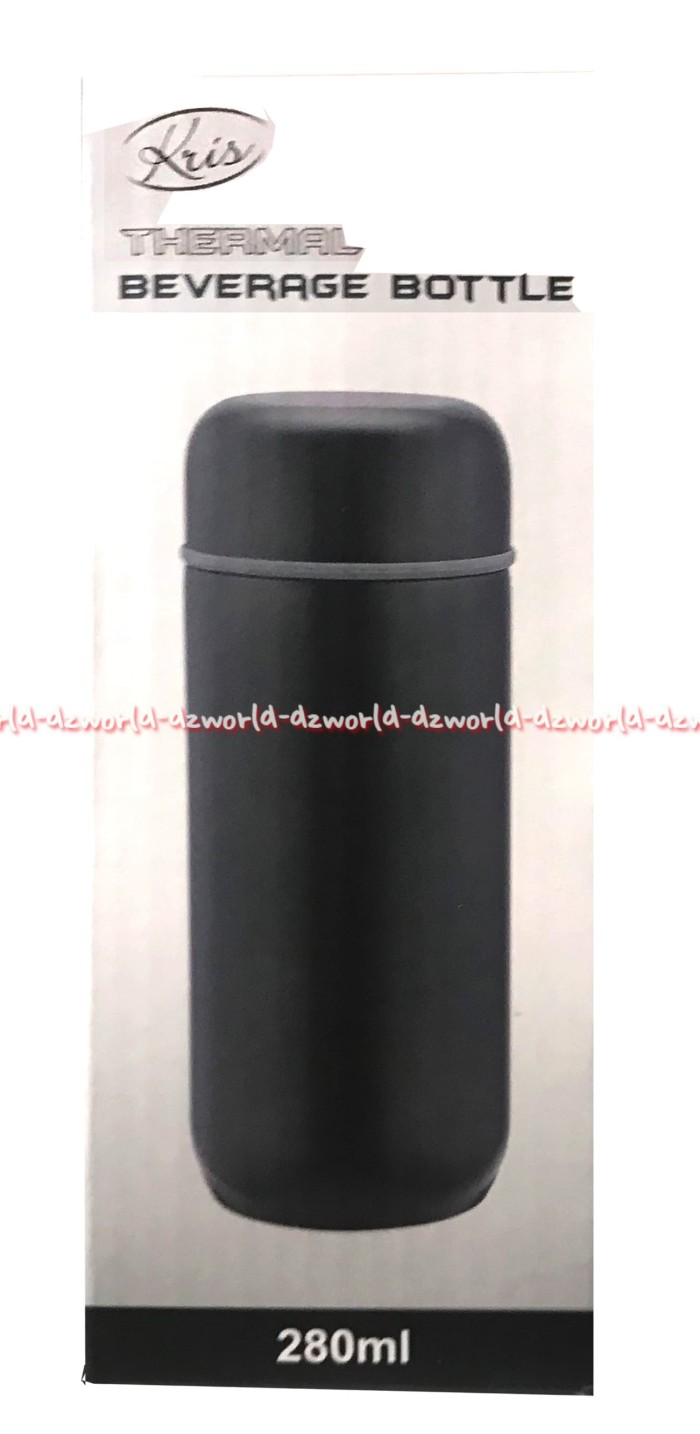 Kris Thermal Beverage Bottle Stainless Steel Termos Vacuum Flash 280ml