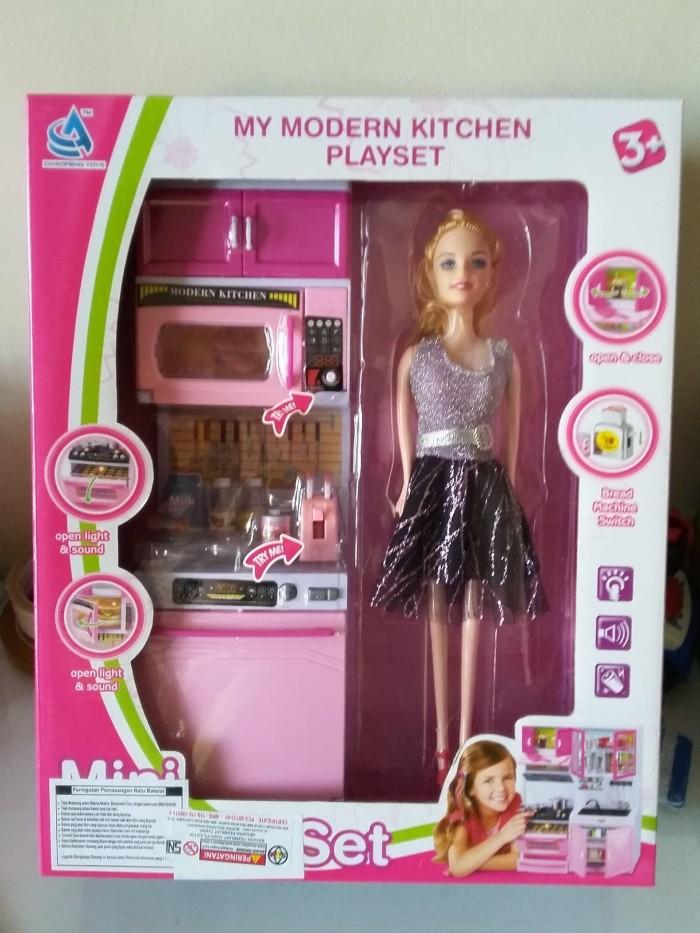 Jual Mainan Anak Kitchen Set Dapur Modern Dg Boneka Mainan Masak Masakan Kota Surabaya Lixx Shopee Tokopedia