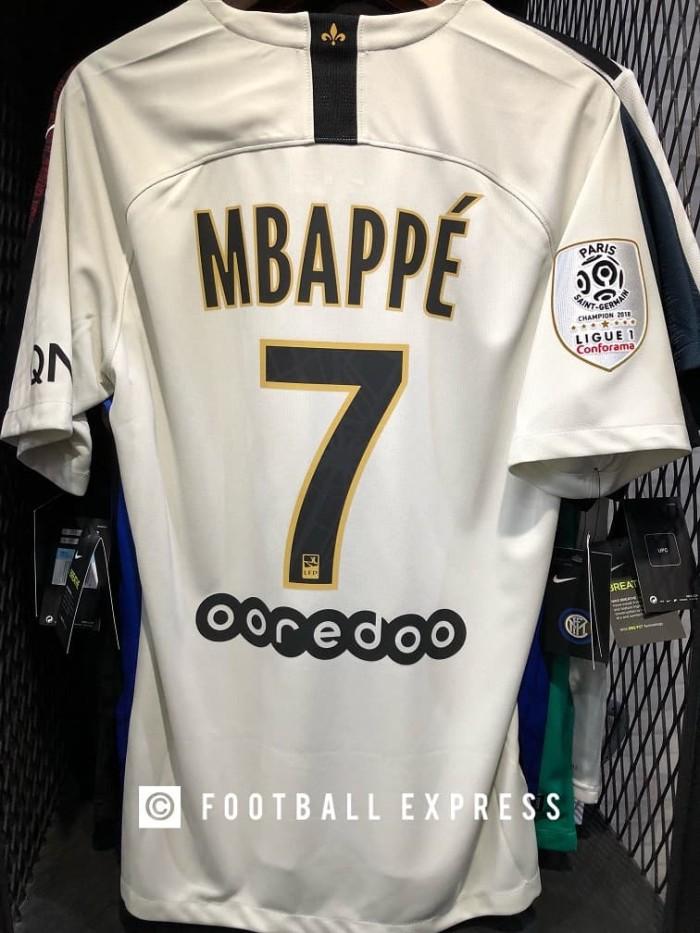 new product e5667 5ada9 Jual Jersey Original PSG Away & Patch Champion PSG & Mbappe Season 2018-19  - DKI Jakarta - football express | Tokopedia