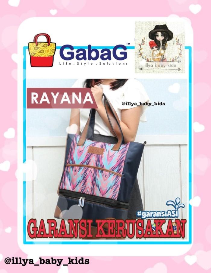 Gabag rayana diaper & cooler bag / tas asi / tas popok