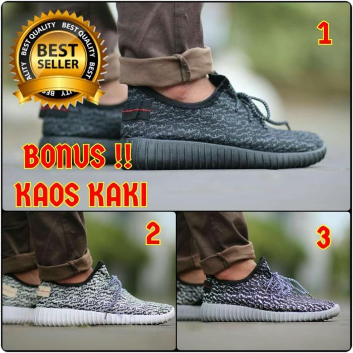 ... harga Sepatu pria casual sport adidas yezzy made in vietnam asli import  Tokopedia.com a0d6fa3745