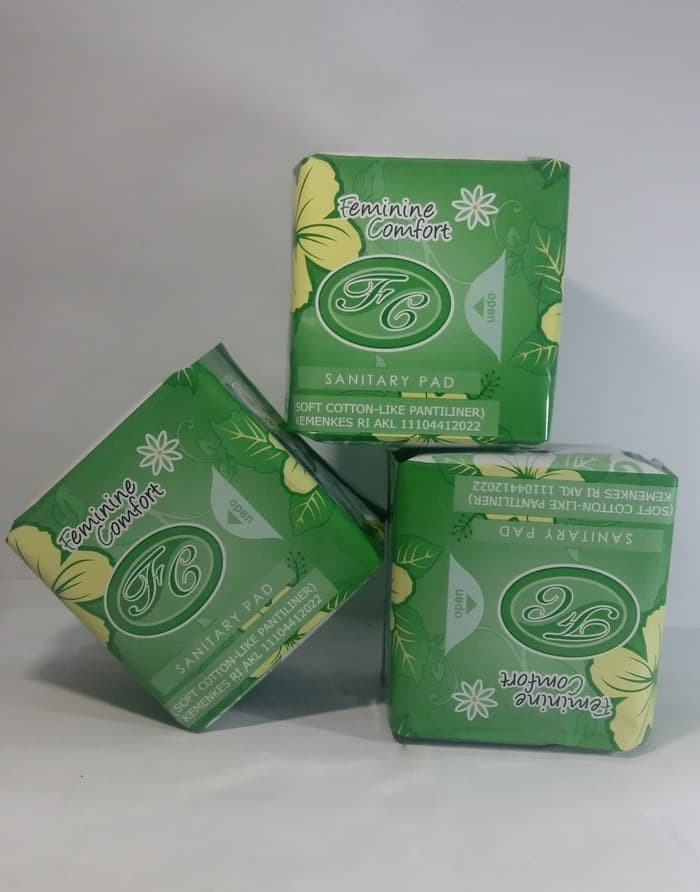 Avail Pantiliner   Pembalut Herbal Avail Hijau Sanitary Pad Pantyliner