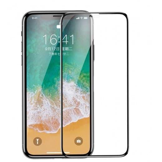 Foto Produk iPhone X/10 Tempered Glass Full Glue Curved Kaca Anti Gores - Putih dari 4K