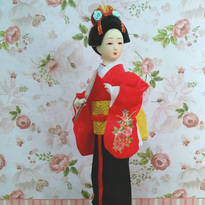 Jual jepang boneka   geisha doll  pajangan jepang   souvenir ... 3c5ea2010c