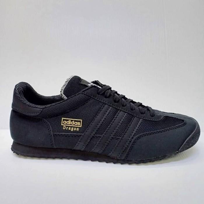 Jual Adidas Neo Dragon   Sepatu Black Hitam Pria Wanita Running ... d873771bc