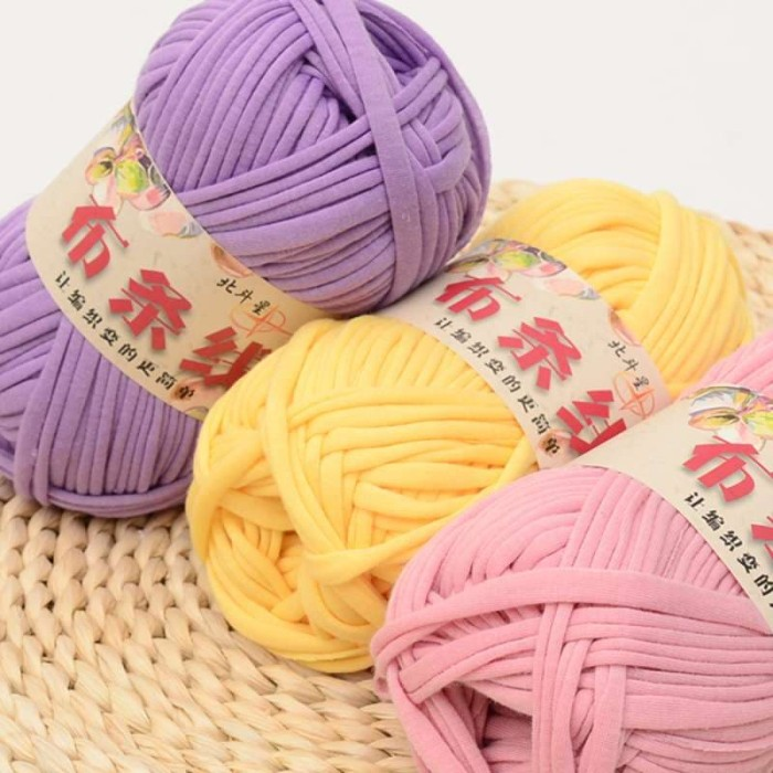 Foto Produk benang rajut tyarn/ benang rajut kaos import/ t-yarn dari Primeivon Craft