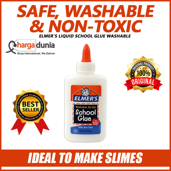 harga Elmer's liquid school glue made in usa for kids washable 118ml slime Tokopedia.com