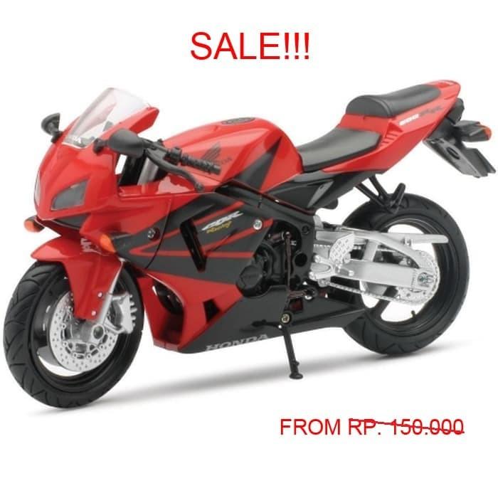 Newray 1:12 Honda Cbr600rr Merah