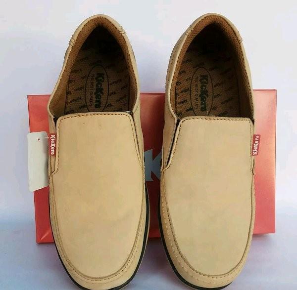 Jual SPESIAL Sepatu Kulit Pria Kickers Casual Berkualitas - Upik s ... 43157ee787