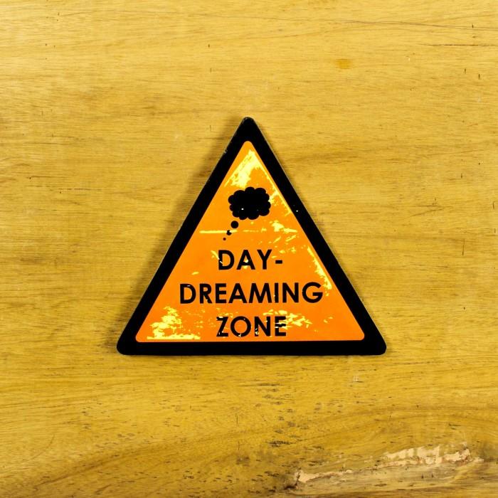 Jual Day Dreaming Zone Dekorasi Nama Ruang Pajangan Kayu Kamar Tidur