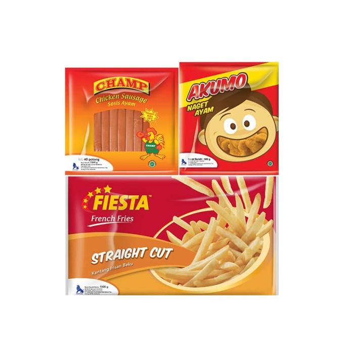 Fiesta Paket Hemat A (3 Pcs)