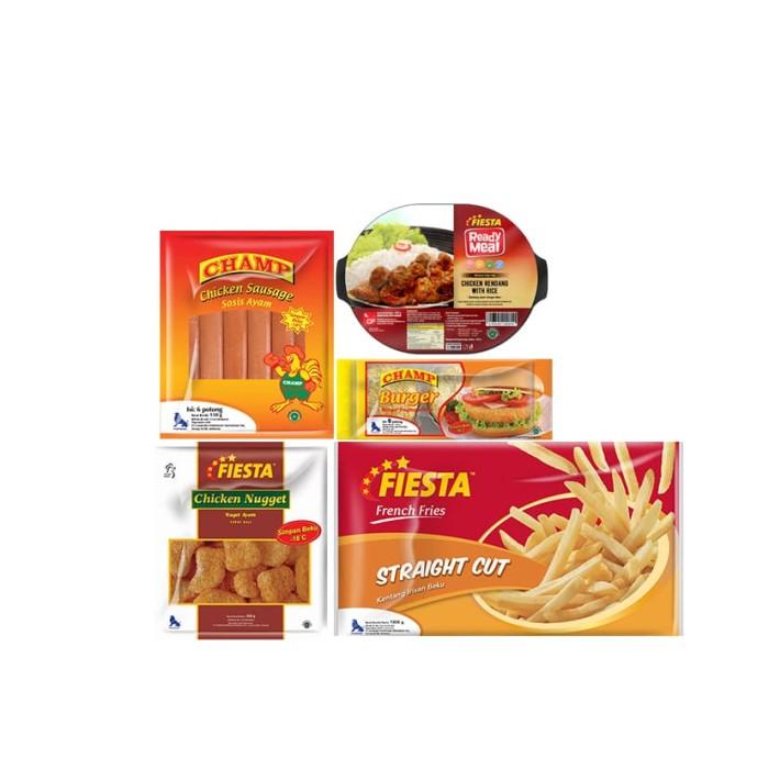 Fiesta Paket Seratus D (5 Pcs) - Blanja.com
