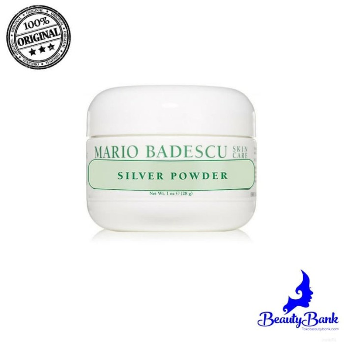 MARIO BADESCU SILVER POWDER (28GR) ORIGINAL MAKEUP IMPORT