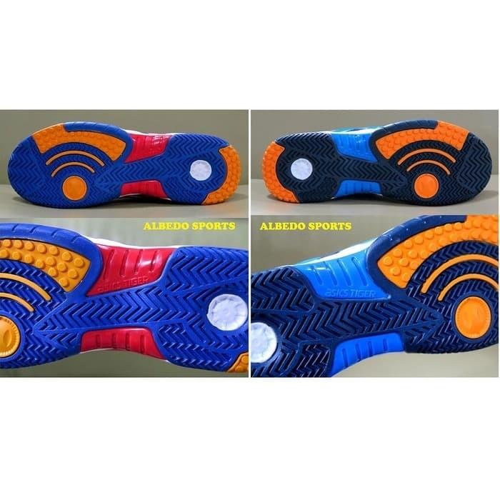 Premium ASICS TIGER Sepatu Tennis Tenis NAVY Nike Adidas Babolat Yone 7577a827bf