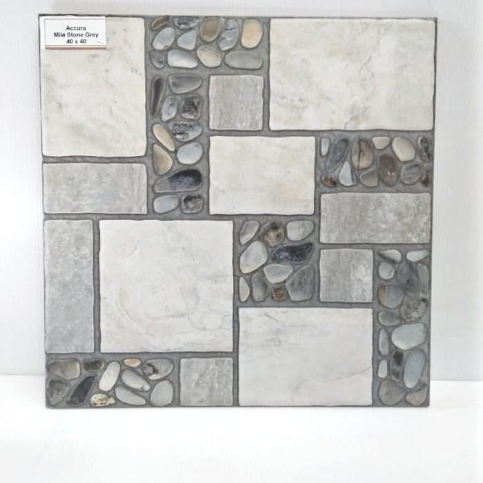 Jual Keramik Lantai Garasi Teras Kamar Mandi Motif Batu Alam Kab Bandung Cahaya Home Galery Tokopedia