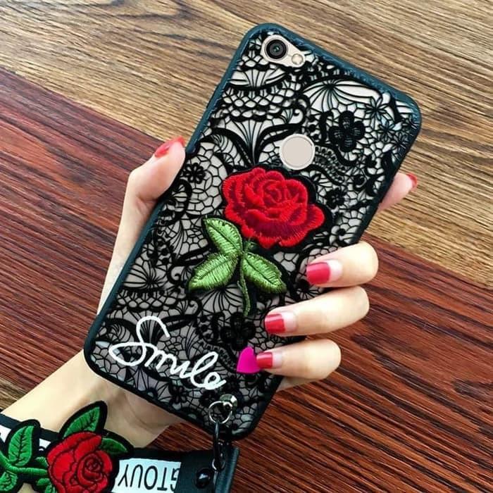 harga Luxury 3d relief flower rose/bunga mawar merah case oppo f5/plus/youth Tokopedia.com