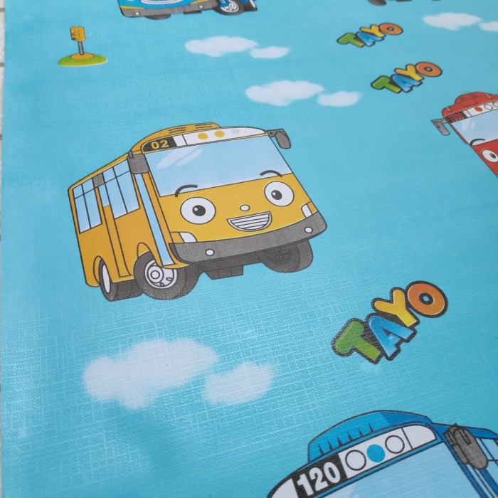 Jual Wallpaper Kartun Tayo 45cm x 10m u2022 Wallpaper Sticker Dinding