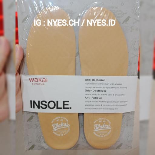 Foto Produk INSOLE WAKAI COKLAT(NUDE) ORIGINAL 100% dari NYPS
