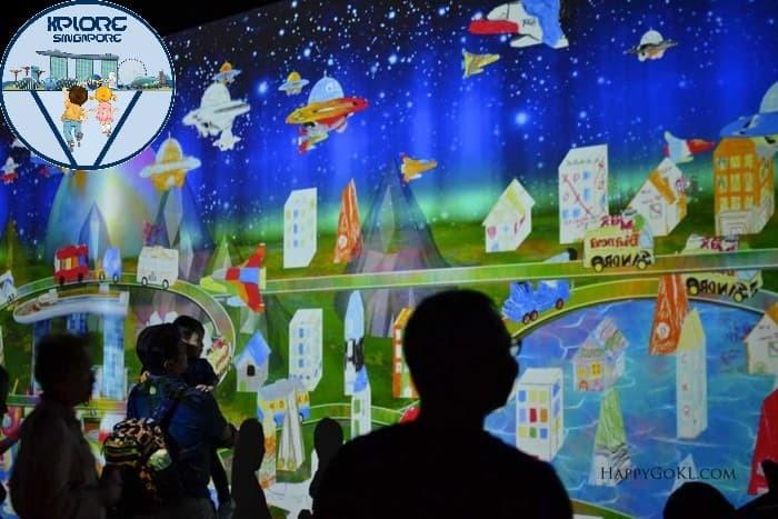 Jual Tiket Art Science Museum Singapore Anak Child Dki Jakarta Xplore Singapore Tokopedia