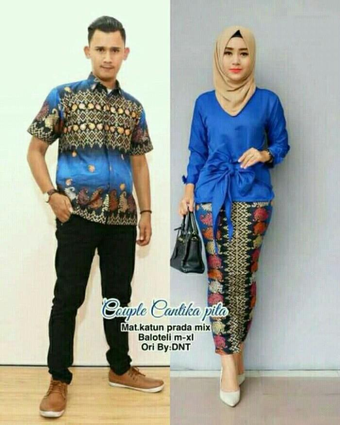 70 Desain Baju Batik Seragam Keluarga