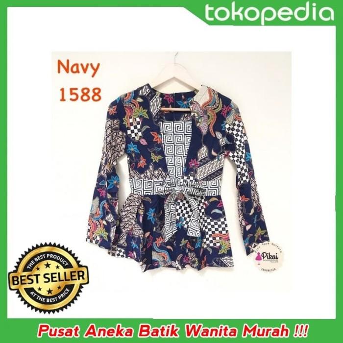 Jual Terbaru Promo Baju Batik Modern Wanita Batik Lengan Panjang Batik Kan Jakarta Pusat Batik Wanita Tokopedia