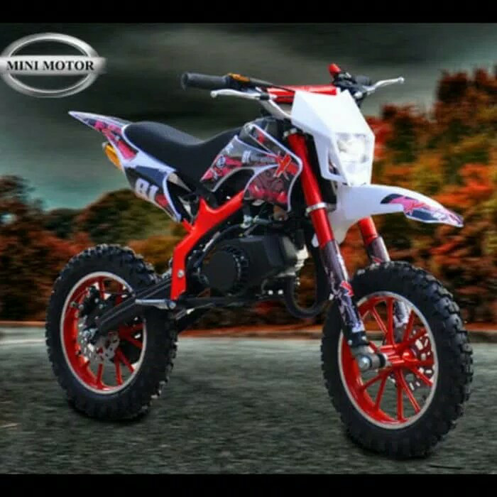 harga Motor mini medium trail 49cc mt4-a Tokopedia.com