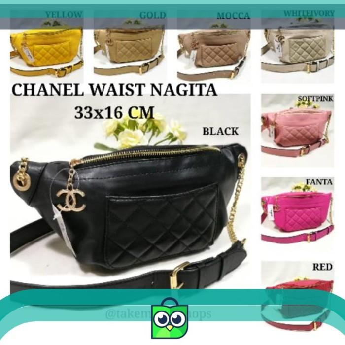 Jual CHANEL WAISTBAG NAGITA BORDIR   TAS PINGGANG - Naga Shop.ID ... 38af316e9d