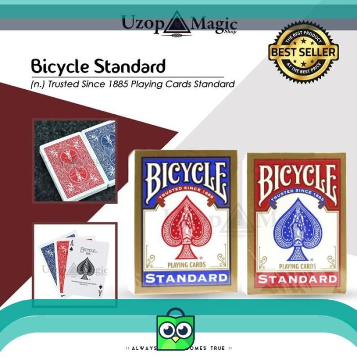 Jual Bicycle Standard Kartu Remi Kartu Poker Kartu Poker Mainan Jakarta Barat Elli Shope Tokopedia
