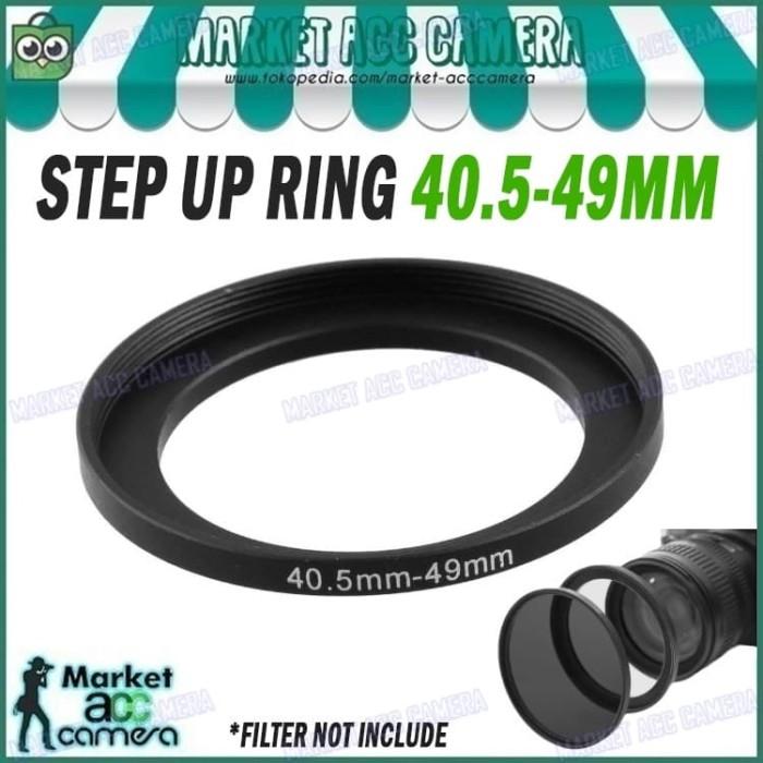 harga Step up/stepping ring filter 40.5mm to 49mm Tokopedia.com