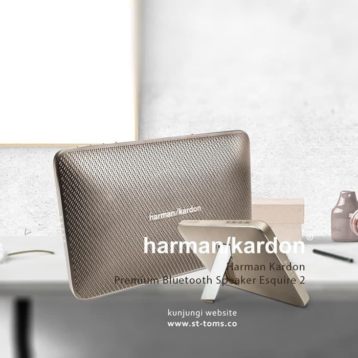harga Terlaris harman kardon premium bluetooth speaker esquire 2 gold Tokopedia.com