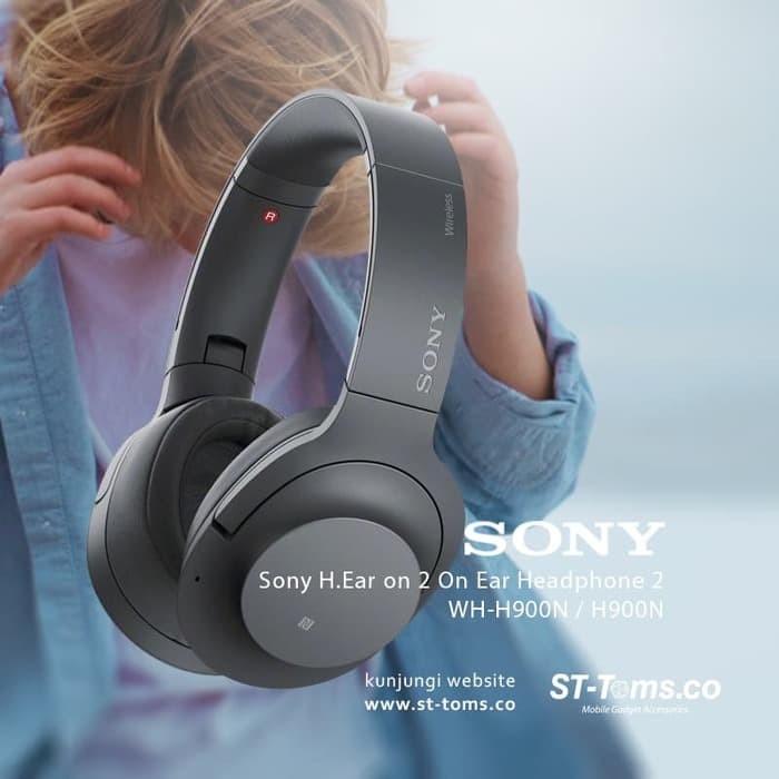 harga Terlaris sony wh h900n h900 n h ear on 2 on ear headphone 2 grayish b Tokopedia.com