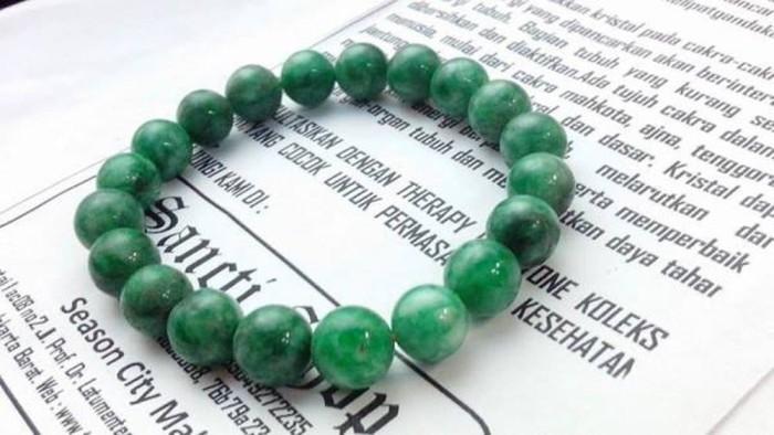 Gelang batu Giok Asli 10mm Genuine Jade 10mm bracelet