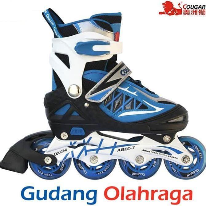 Cougar Sepatu Roda Inline Skate Mzs835l Hitam Silver - Info Daftar ... 023eb14723