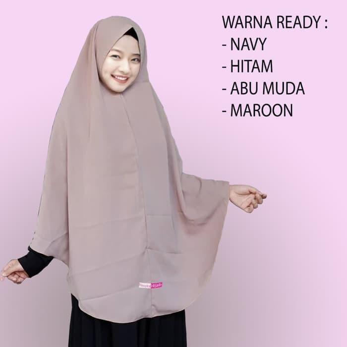 Jual Khimar Pet Instan Syar I Super Jumbo Terbaru Dan Termurah Kab Demak Hijab Fashion Colection Tokopedia