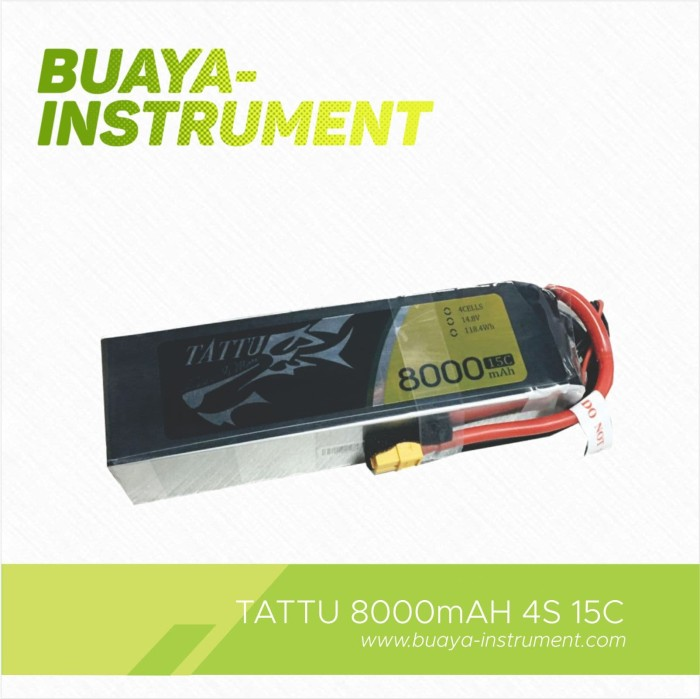harga Tattu 8000mah 4s 14.8volt 15c high capacity powerful rc lipo baterry Tokopedia.com