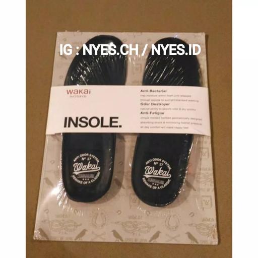 Foto Produk INSOLE SEPATU WAKAI ORIGINAL BLACK dari NYPS